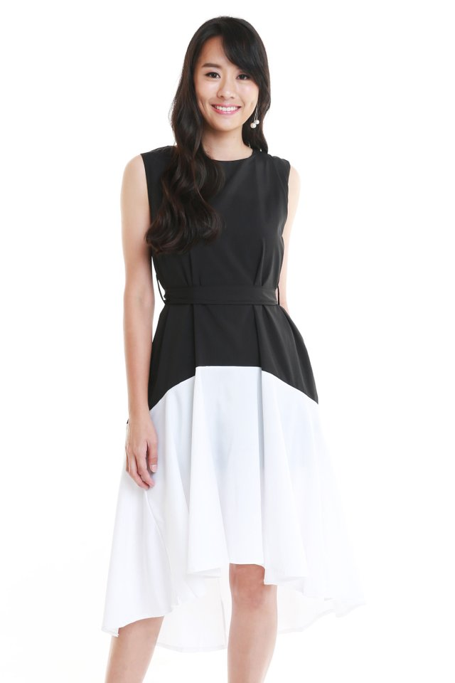 Serenity Ballerina Dress In Black