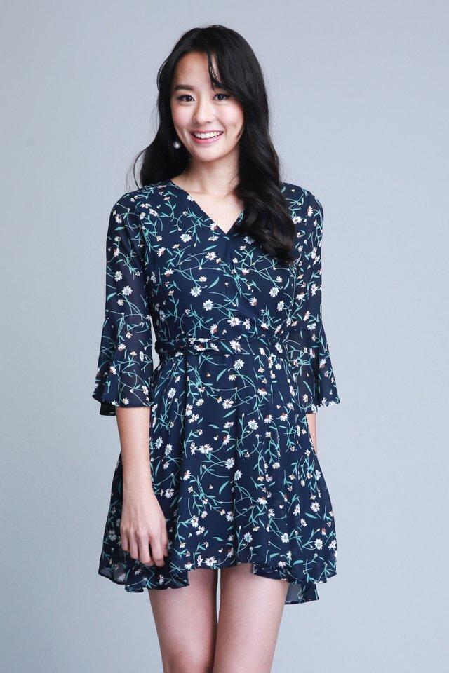 Camille Floral Dress