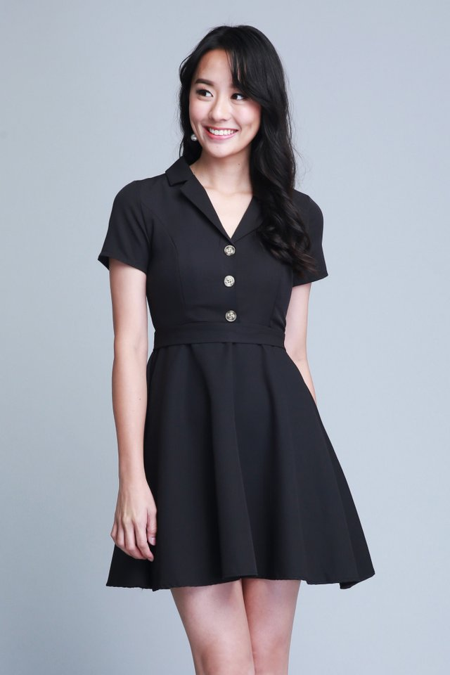 Arielle Dress In Black