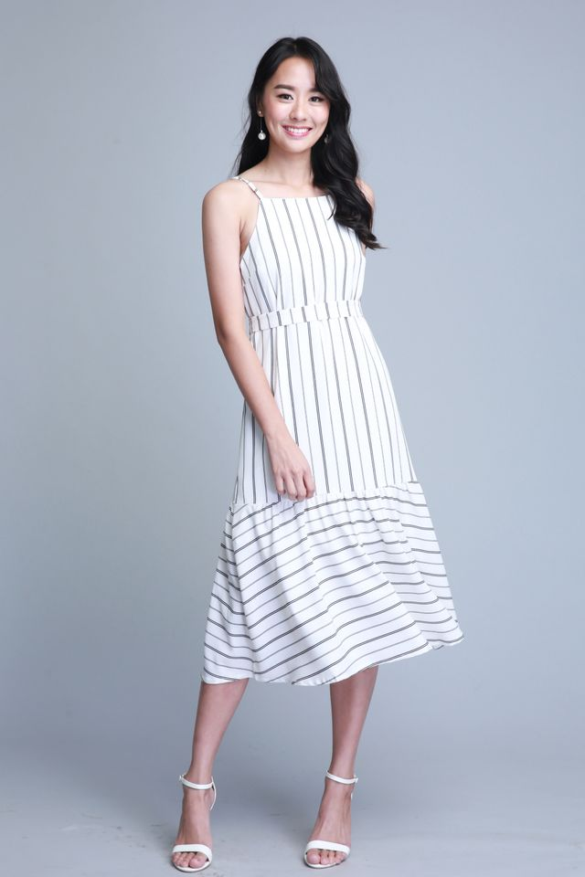 Lyla Dress In White