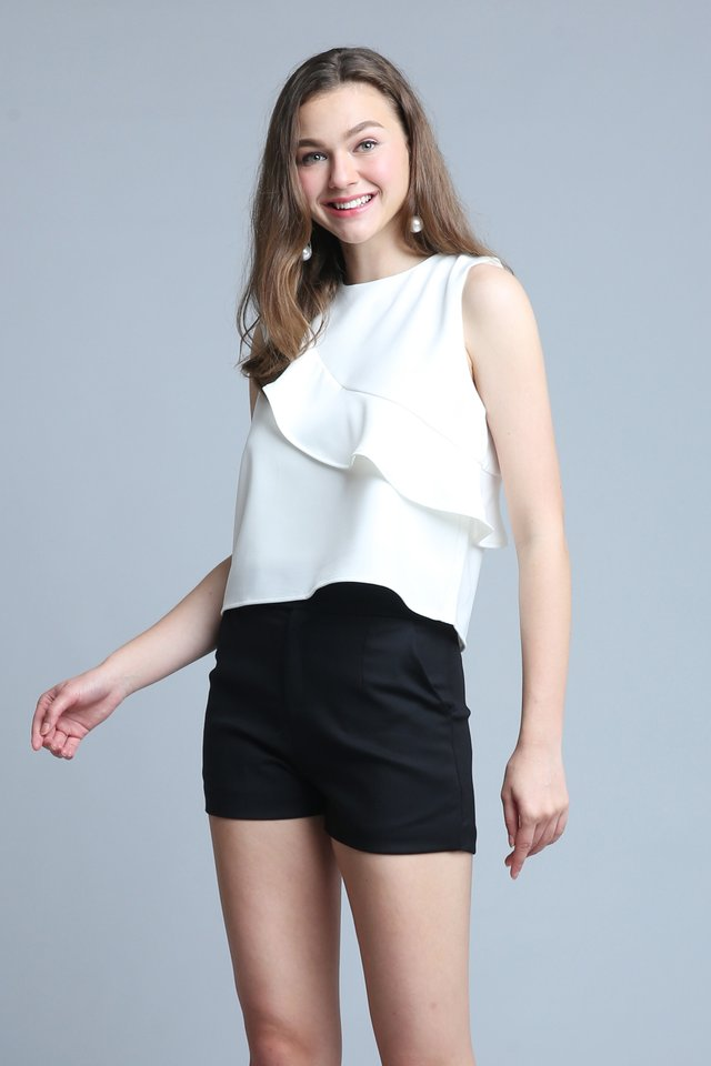 Valerik Top In White