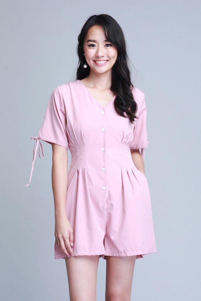 Luciana Romper In Pink