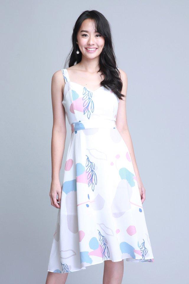 Lauryn Dress in White