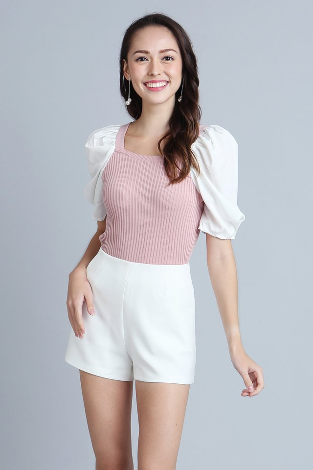 Aurelie Top Knit in Pink