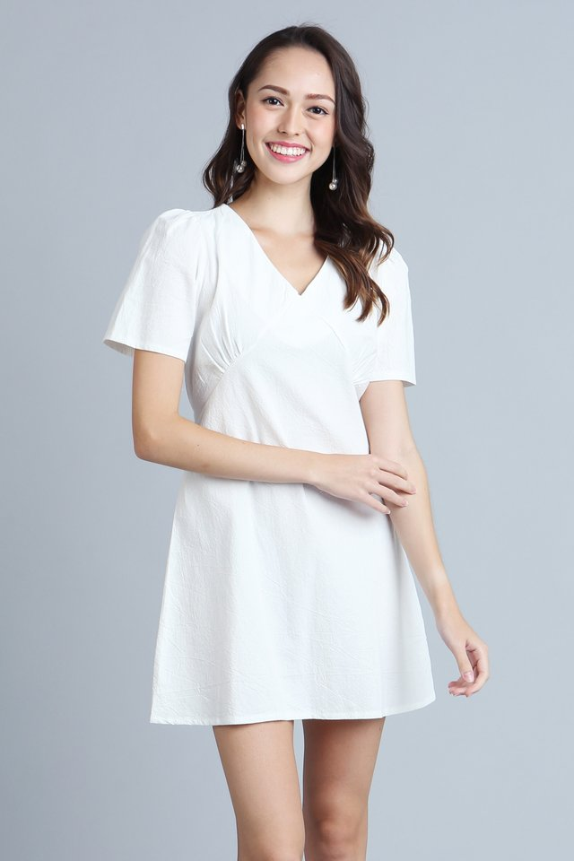 Alyssa Dress in White