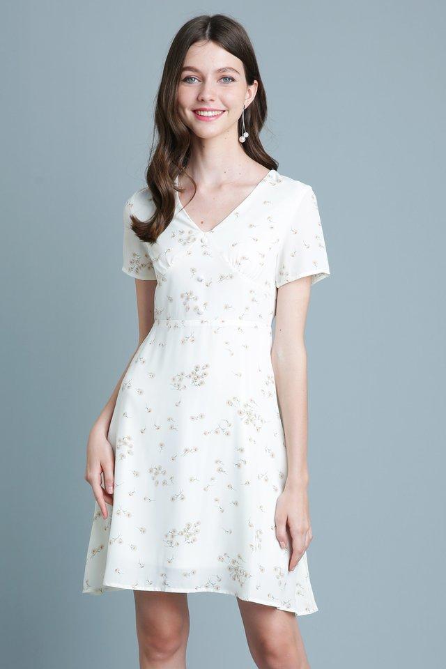 Claire Dress in Cream